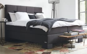 Boxspringbett Saga Aktion in anthrazit
