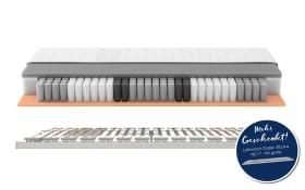 Matratzenset Starline X7 in Härtegrad 2 inklusive Lattenrost Classic 28 Plus NV