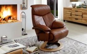Fernsehsessel Cosy-Relax in dunkelbraun