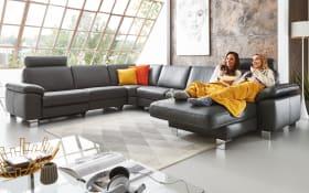 Wohnlandschaft Sofa Concept in schwarz