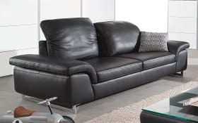2-Sitzer Joyzze Plus in schwarz mit Sitztiefenverstellung