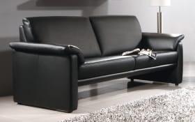 Sofa Lucca groß in schwarz