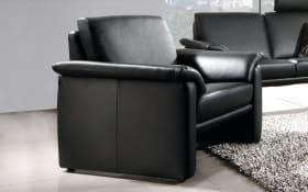 Sessel hoch in schwarz