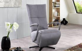 Drehsessel Seat 2 in silver