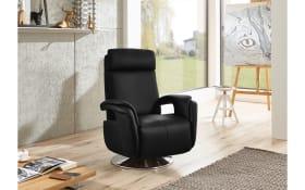 Fernsehsessel Freestyle-L in schwarz, ohne stufenlose Rückenverstellung