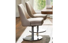 Drehstuhl -6105/1D- in beige