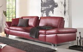 Sofa 2,5-sitzig Modell Dive in rubin