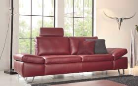 Sofa 2-sitzig Modell Dive in rubin