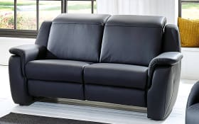 Sofa 2-sitzig Modell Cammeo in dunkelblau