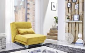 Faltsofa Gina in gelb