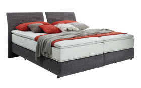Boxspringbett Evolution Select in grau