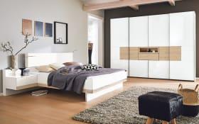 Schlafzimmer Iskia in polarweiß/Jackson-Eiche Optik