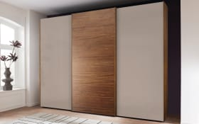 Kleiderschrank Attraction Wood in Macadamia Nussbaum-Optik