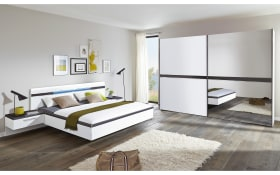 Schlafzimmer Deseo in weiß