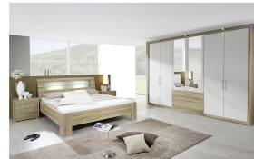 Schlafzimmer Neuss in Eiche-Sonoma-Optik/alpinweiß