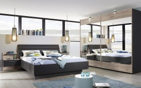 Schlafzimmer Nicole in graphit/Jackson Hickary-Optik