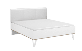 Bett Marcella in alpinweiß