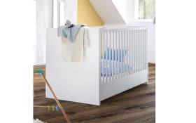 Babybett Scandi Baby in weiß