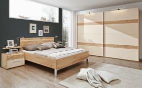 Schlafzimmer Utah in Eiche Furnier/sand