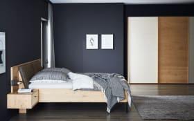 Schlafzimmer Justus in Balkeneiche furniert mit Lack sand