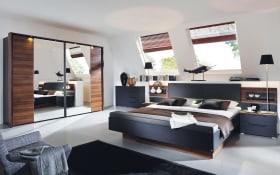 Schlafzimmer Amado in schwarz