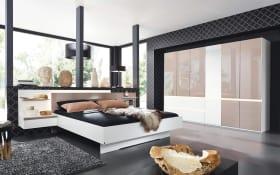 Schlafzimmer Atami in weiß