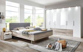 Schlafzimmer Panama-Plus in Samteiche/weiß