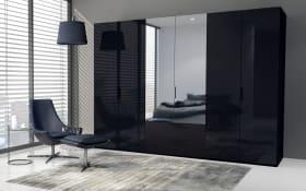 Kleiderschrank 20UP Scale in schwarz