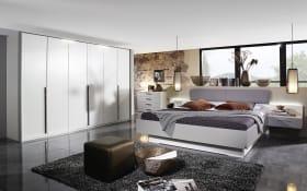 Schlafzimmer Hoody in alpinweiß/seidengrau, Liegeflächenbreite 200 cm