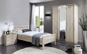 Komfort-Schlafzimmer Meran in Eiche sägerau Nachbildung