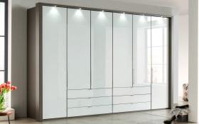 Kleiderschrank Loft in weiß
