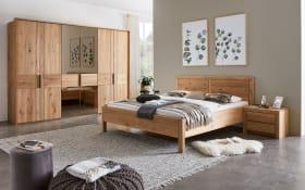 Schlafzimmer WSM 2700 in Wildeiche massiv