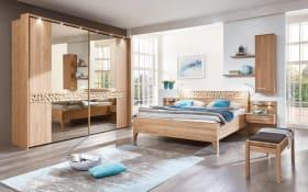 Schlafzimmer Paolo in Eiche natur Optik, ca. 250 x 216 x 67 cm