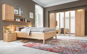 Schlafzimmer 1001 in Wildeiche funiert