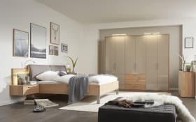 Schlafzimmer 1008 in Balkeneiche/taupe