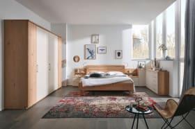 Schlafzimmer 1013 in Balkeneiche Furnier