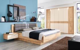 Schlafzimmer Minto in Balkeneiche furniert/Lack sand