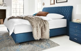 Boxspringbett 1403 in blau
