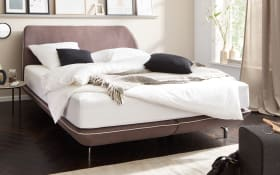 Boxspringbett 1404 in grau