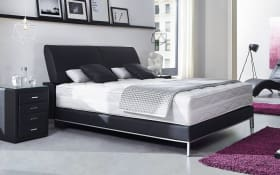 Boxspringbett Edition Deluxe in schwarz