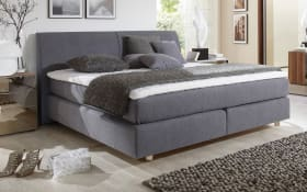 Boxspringbett Comfort 2,0 in anthrazit