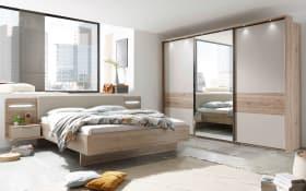 Schlafzimmer Lissabon in Eiche San Remo hell Nachbildung
