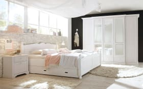 Schlafzimmer Cinderella Premium in Kiefer weiß