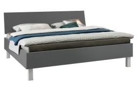 Doppelbett Carina in graphit