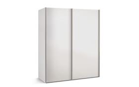 Schwebetürenschrank Budget 2 in weiß, B/T ca. 175 x 68 cm