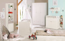 Babyzimmer Mia in Canadian white Optik