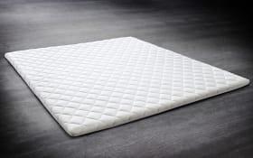 Topper Comfortschaum in weiß, 180 x 200 cm