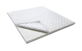 Topper Comfortschaum 3040-70-5000 in weiß, 180 x 200 cm
