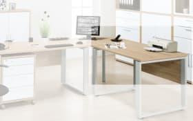Schreibtischplatte Contact in Sonoma-Eiche-Optik 120 x 80 cm