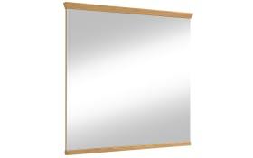 Spiegel Garda aus Eiche bianco, 84 x 82 cm
